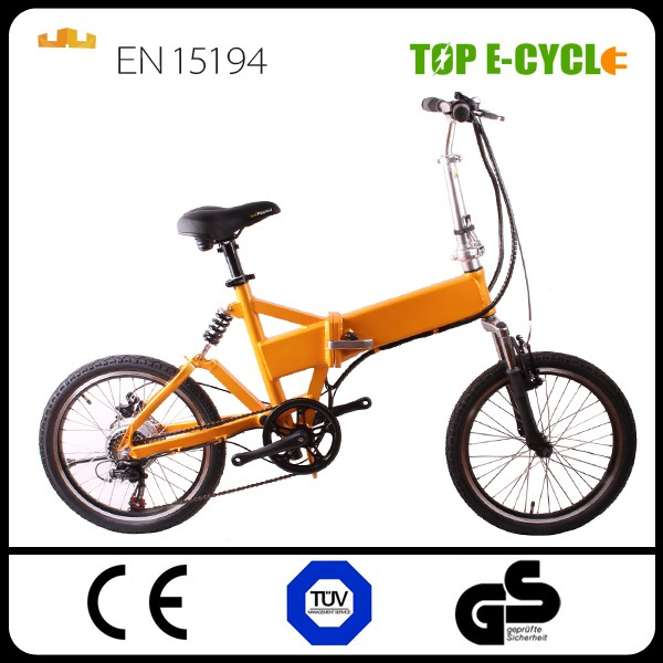 TOP/OEM 36V 250W Cheap Folding Electric Bike tricycle electric bicycle Wholesale in china