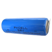 ER17505 A size 3.6V Li-SOCI2 battery can add wire and connector