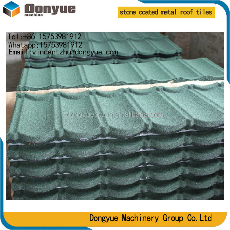 Chinese SHANDONG brown building materials ceramic shingle stone flat roof tile/tiles