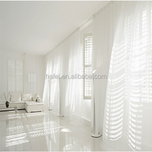 most beautiful elegant polyester sheer window curtain design