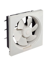 With Guard 6 8 10 12 inch Whole plastic Wall Window Shutter Ventilating Exhaust Fan For Smoking room