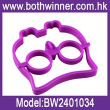 Silicone ring egg cup h0tX5 egg fried mold for sale