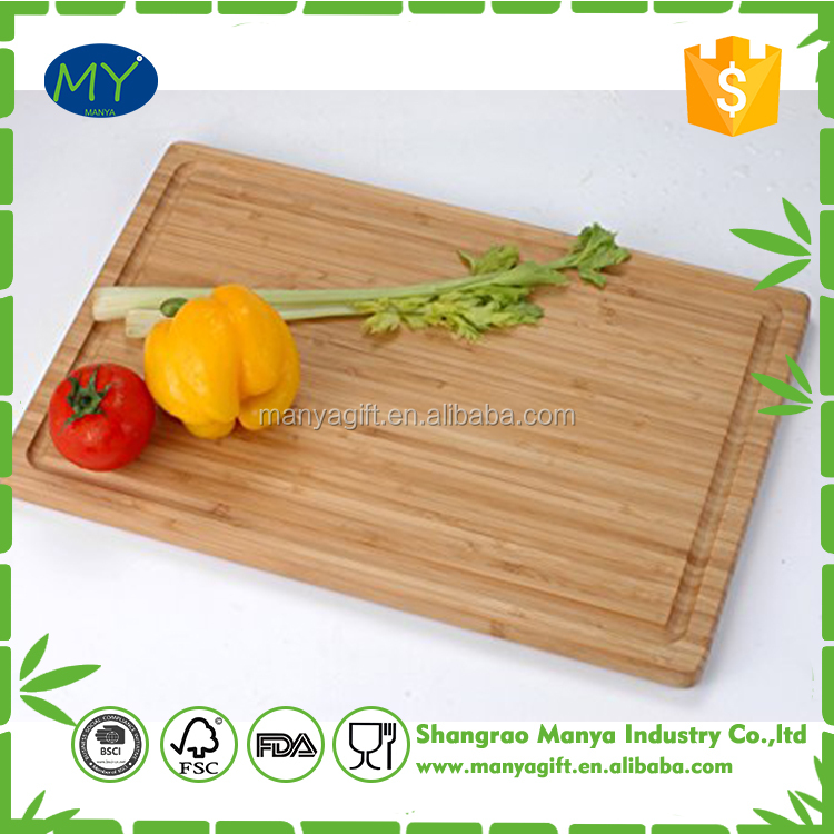 bamboo material and chopping blocks type vegetable cutting board