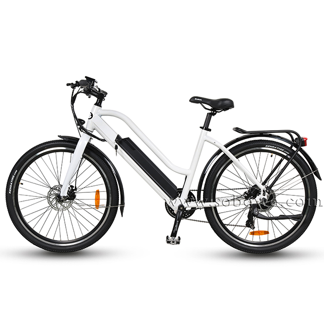 OEM Trekking 700c <strong>City</strong> Bafang Hub Drive Electric Bike/Chinese Cheap Electric Bicycle for Adults