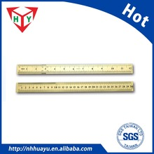 custom 30cm stainless steel metal ruler with logo