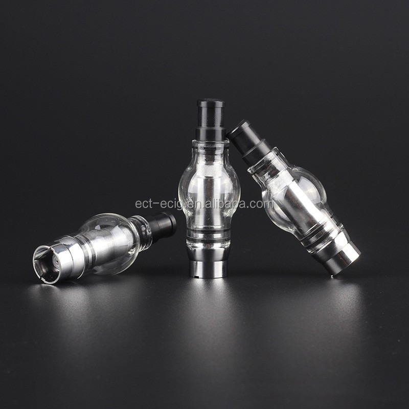 Newest dry herb vaporizer pen with bulb atomizer