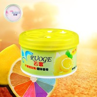gel deodorant car air freshener lemon natural flavor fragrance sticker flavor & fragrance freshener