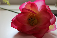 artificial lotus flower, lotus single flower for decoration