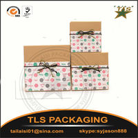 Carton packaging/Kraft paper gift packaging box/Square large gift box