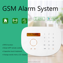 Chile,Mexico,Peru,Popular alarm! GSM home alarm wireless with two way intercom and based GSM module
