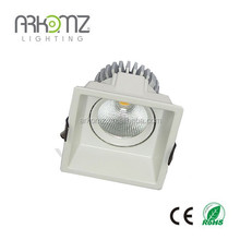 2014 Peilan Arkomz square mr16 recessed lighting trimless led downlight