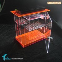 China Wholesale Display Stand Clear Acrylic E-cigarette E liquid Acrylic Display Case