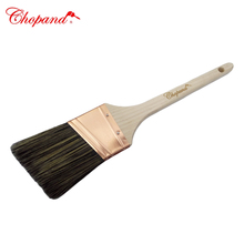 High Quality Long Wooden Handle Angle Paint Brush