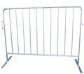 Flat Foot Crowd Control Barrier Pedestrian Tough Crowd Control Barriers