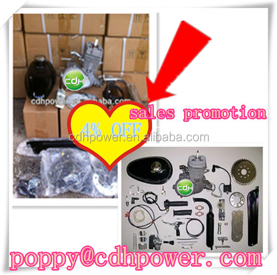 Moped bike gasoline/ Motor Kit for Bicycle