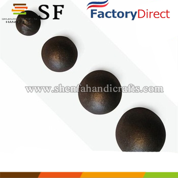 Fence top decoration use cast iron ball