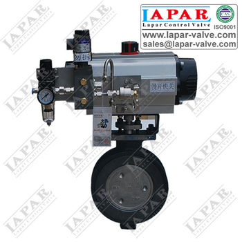 LPB13 series High-Performace Double Eccentric Butterfly Valve for low temperature