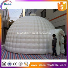 high quality customized super cool outdoor inflatable ice house dome tent for advertising