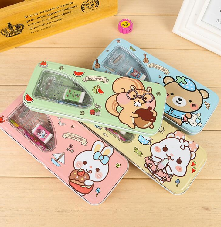 cute 6 Piece School Supply Pencil Stationery Set