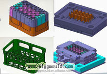 top tech. Plastic Crate mold