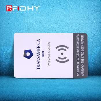 Most Popular 13.56MHZ RFID Contactless MIFARE Plus S 2K Card