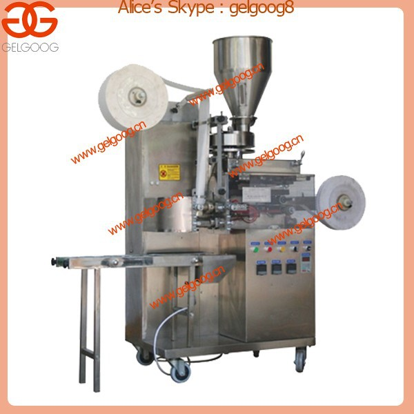 Automatic Inner and Outer Tea Bag Packing Machine with Thread and Tag