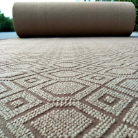 double jacquard floor carpet price for office and home