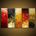 Home Decor Handpainting On Canvas/Canvas Oil Painting/Colorful Oil Painting