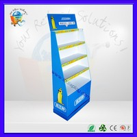 tire display stand, floor tiles display racks,cardboard tier display
