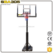 steel pole lifetime basketball hoop for sale