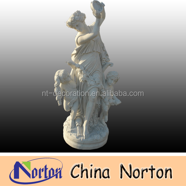 Hand carved stone statue NTMS004