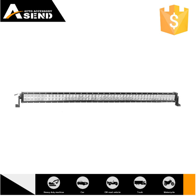 "For Jeep Wrangler 288w offroad straight led bar light 50"" spot flood combo beam 50 inch 4x4 curved led light bar"