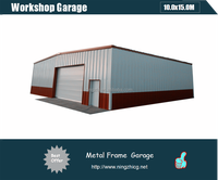 portable Steel Buildings/Large metal shed/Garage with Workshop