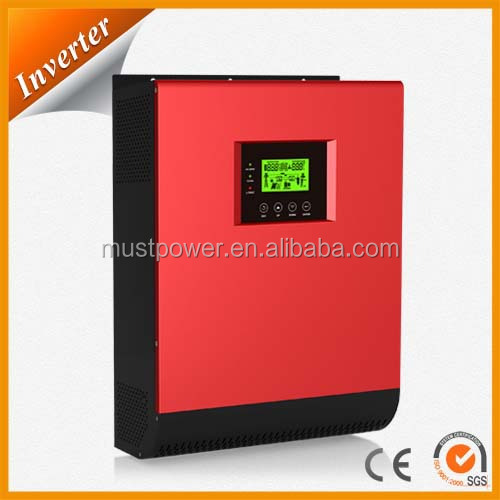 < MUSTPOWER > PV1800 hybrid solar inverter with MPPT solar charge controller single phase to 3 phase inverter 10KVA 15KVA 9KW 12K
