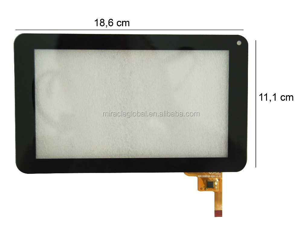 "High quality 7"" Capacitive touch screen replacement for Ployer MOMO9 Enhanced III 3 Tablet 300-N3803B-B00-V1.0 touch panel"