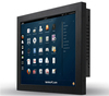 15 inch J1900 industrial touch screen panel pc linux system with 4G DDR3 for HMI
