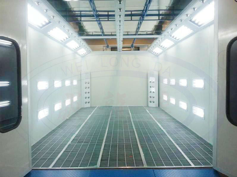 WLD8400 car spray oven bake booth