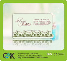New Style Wedding and Souvenir Plantable Seed pvc Greeting Card
