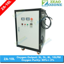 High purity mobile industrial oxygen concentrator 10lpm for welding