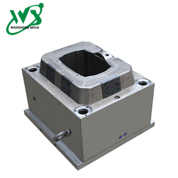 16L Square Dustbin Inner Bucket Mold Moulding Process Injection Molding Cost