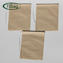 Biodegradable empty filter paper tea bags