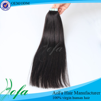 Wholesale tape hair extensions,tape hair extensions 100% human hair