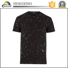 2015 Benta pure cotton short sleeve black and white spot t shirt