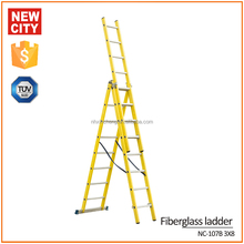 2016 hot sale aluminum 10m electric attic ladder 12 meter