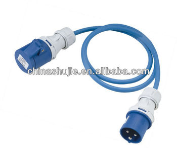 NEW PVC/RUBBER French/German Extension Cord TUV approval