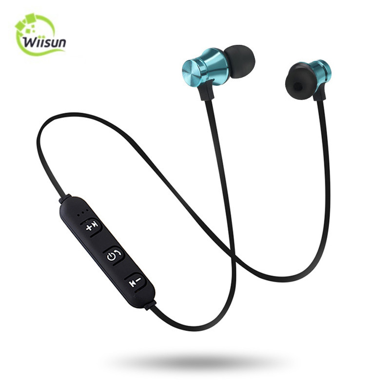Hot Selling Blue Tooth 4.2 Wireless Headphone Sport Stereo Magnetic Earphone
