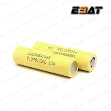 Authentic LG battery 18650 3.7v rechargeable battery LGHE2/LGHE4/LG 2600MAH/LG D1/ LG MH1/LG MJ1 18650 LI-ION Battey