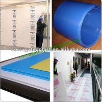 Corflute Sheet Temporary Floor Protection