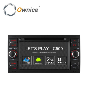 Ownice C500 8 Core car dvd GPS NAVI player for Ford Old Focus with Navi WIFI support TV Mirror DAB support dab tpms