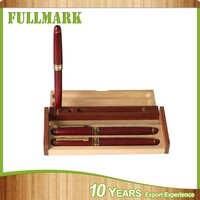 Wooden simple style traditional personalized wooden pen case